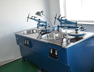 变频调速光学二轴研磨机