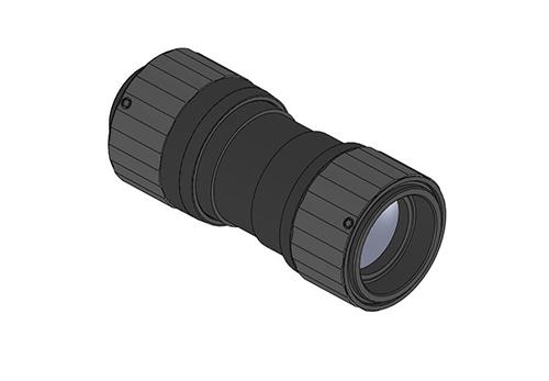 Laser optomechanical system